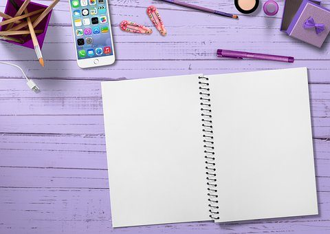 blank notebook on the table | Lift Legal