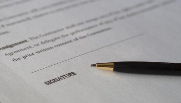 signature paper   Lift Legal