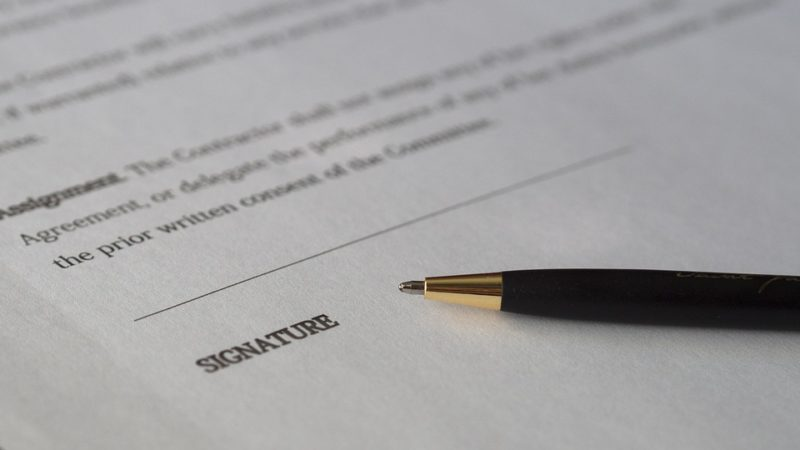 signature paper | Lift Legal